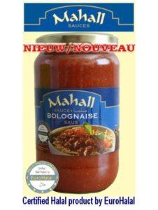 Mahall - Sauce Bolognaise Halal